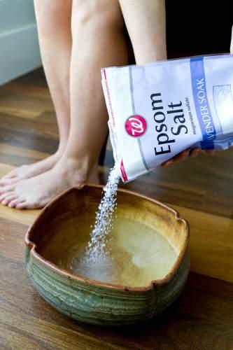 Plantar fasciitis treatment epsom salt