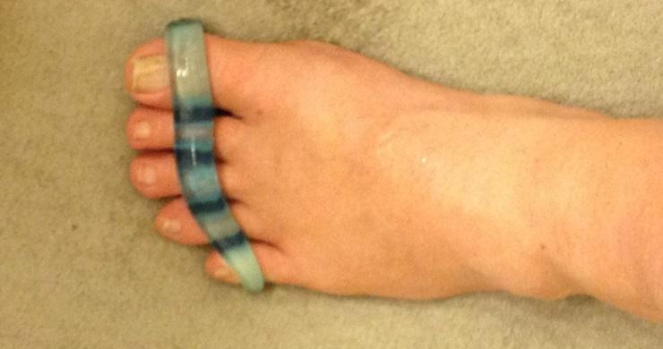 Wearing toe separators